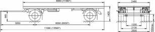 neuer MAZ 892600-1025-000Р1 Pritschenanhänger