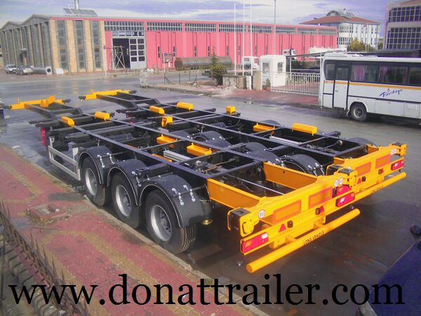 neuer DONAT Container Chassis Semitrailer Containerauflieger