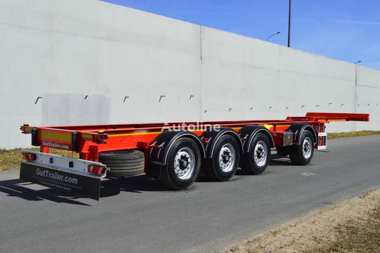 neuer GUT TRAILER  CS-544 Containerauflieger