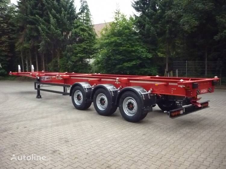 JANZEN SYSTEM Road train type Containerauflieger