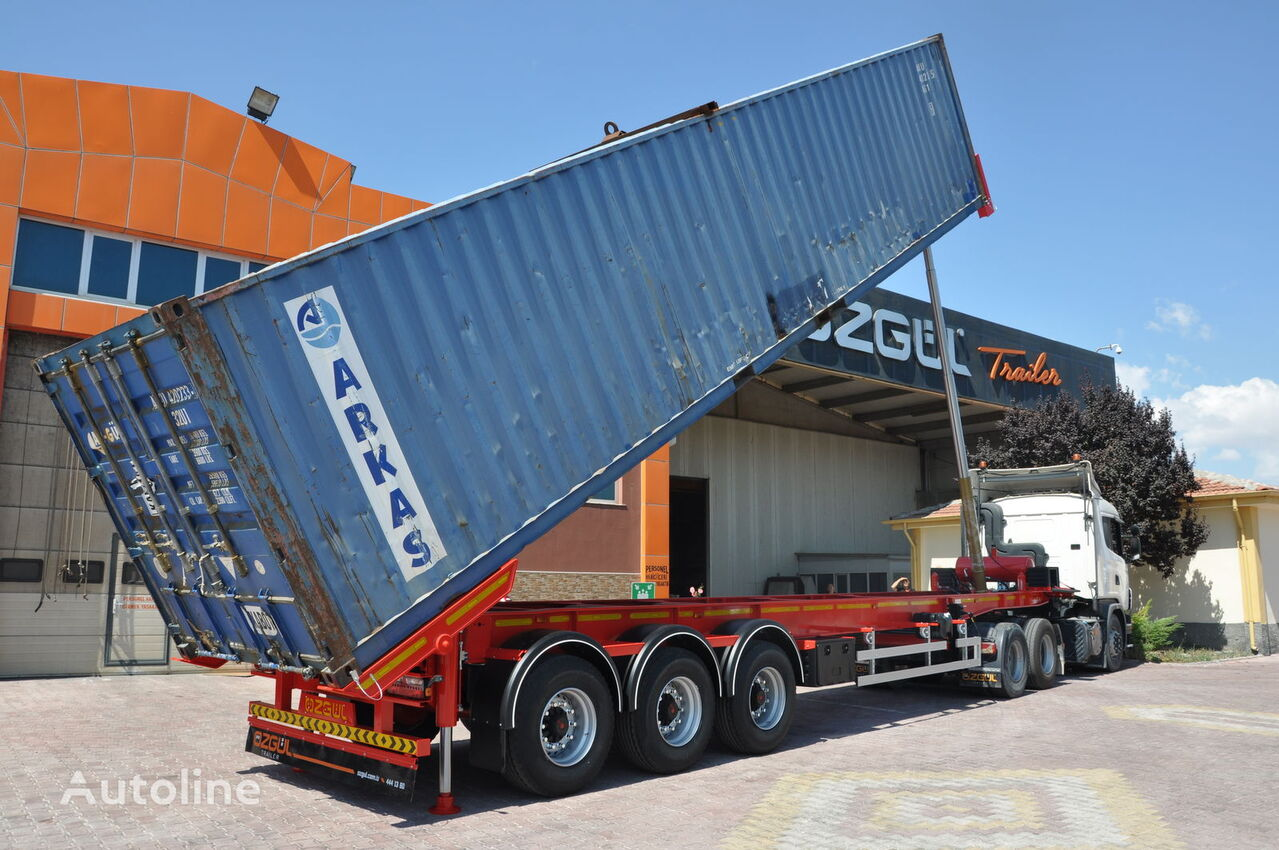 OZGUL 40 FT TIPPING CONTAINER CHASSIS  Containerauflieger