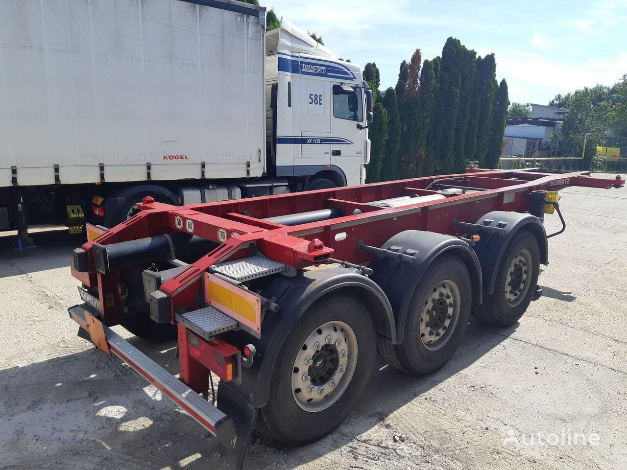 SCHMITZ CARGOBULL SGF  Lift Axl TOP ADR Containerauflieger