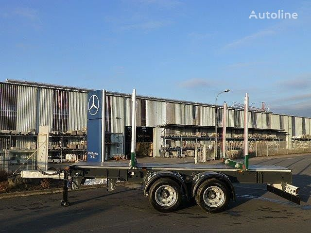 neuer EBERT KHZA 18 Tandem-Kurzholz-Anhänger NEU Holztransporter Auflieger