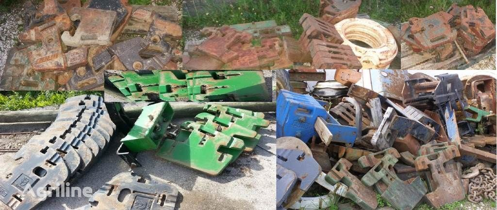 PESOS diversos tipos Gegengewicht Traktor