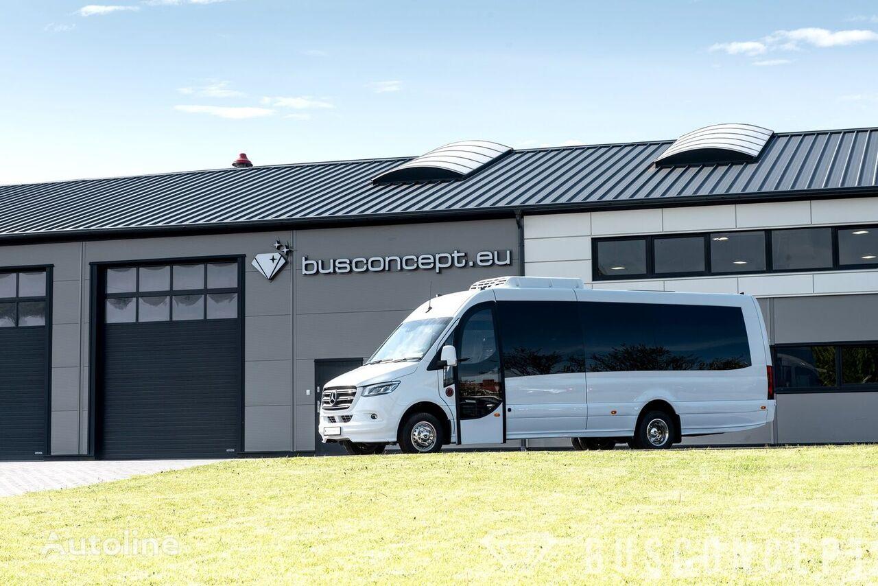 neuer MERCEDES-BENZ Sprinter 516 8 m BIG BOOT 16 +1 Right Hand Drive, ON STOCK Kleinbus