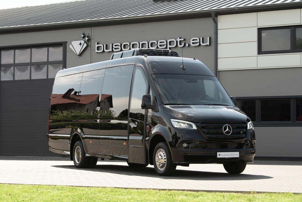 neuer MERCEDES-BENZ Sprinter 519, XXL Premium 2019 Design Kleinbus