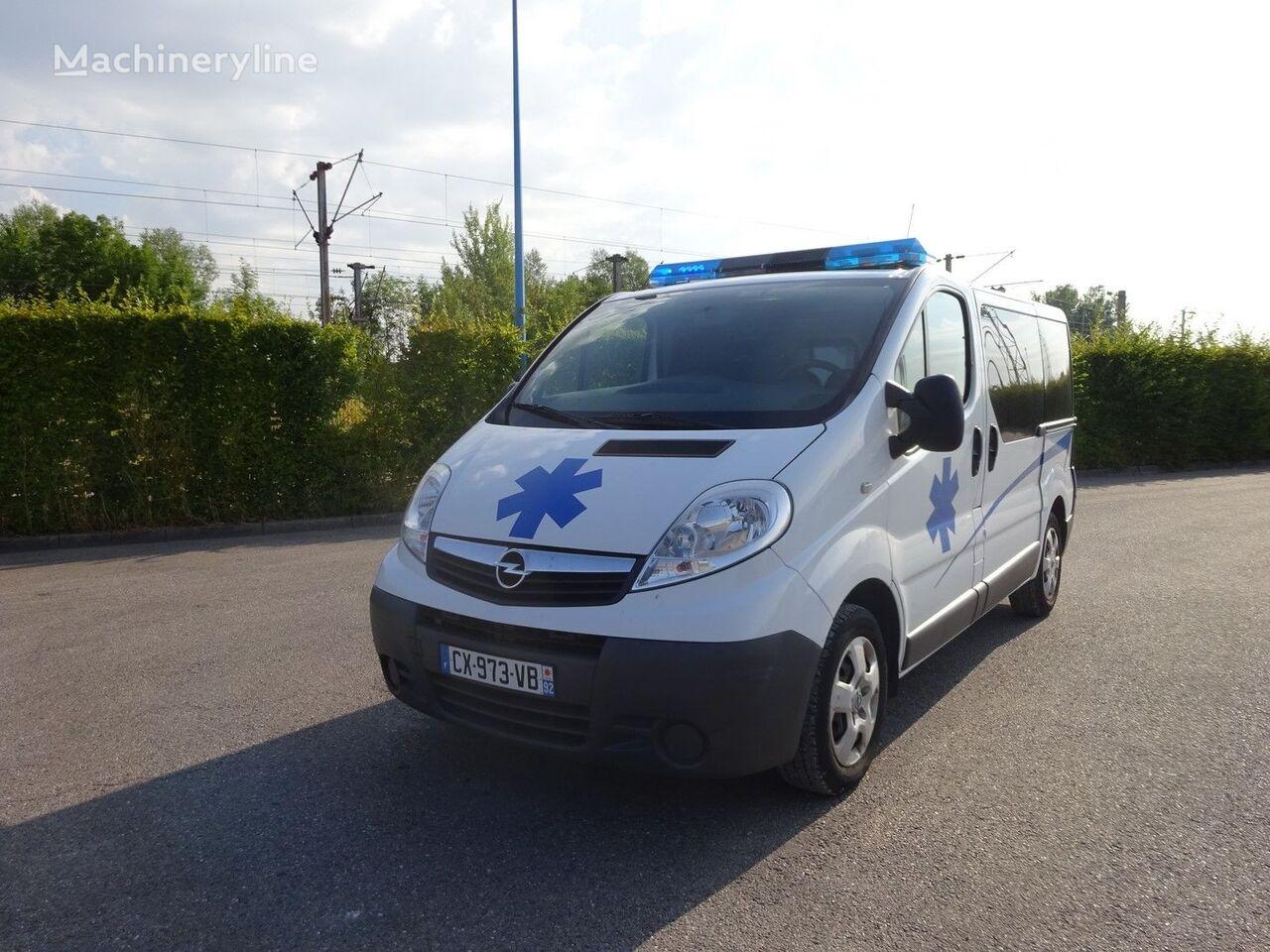OPEL VIVARO L1H1 115 CV 2013 Rettungswagen