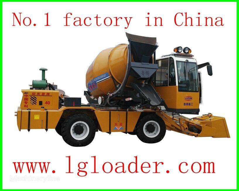 neuer LUZUN self loading concrete mixer1 Betonfahrmischer