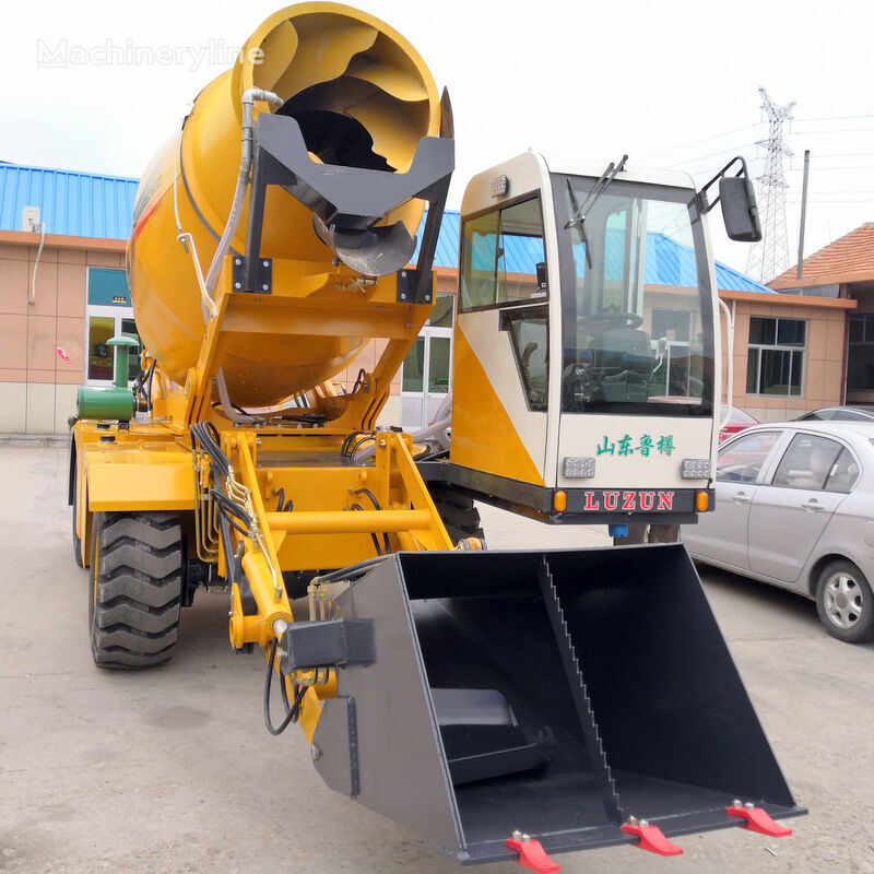 neuer selfloading concrete mixer Saugbagger