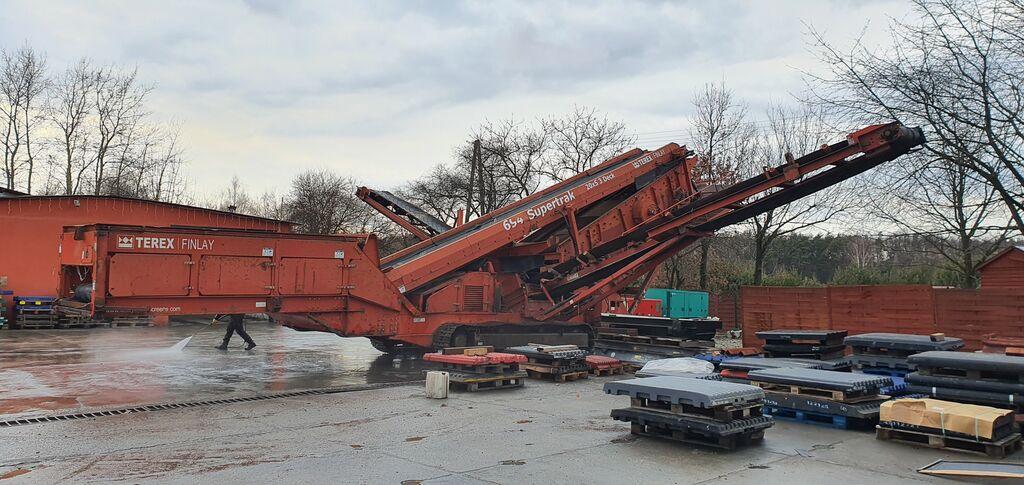 TEREX-FINLAY 694 triple deck screener Siebanlage