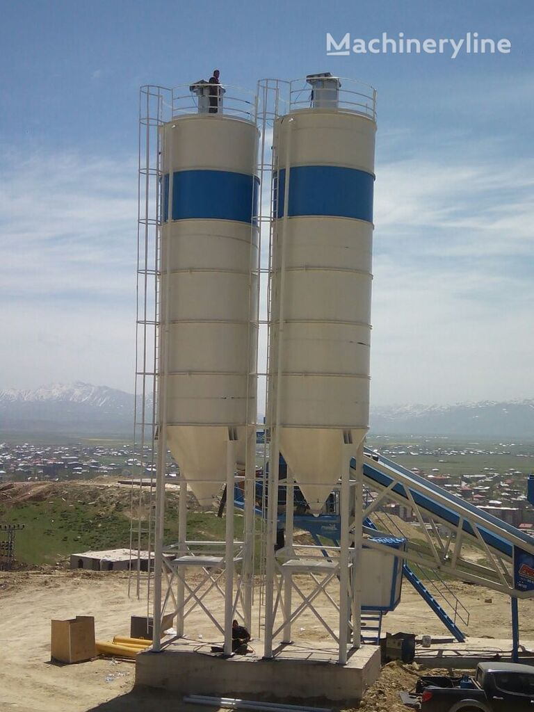neues PROMAX 100 tons cement silo delivery from stock Silo