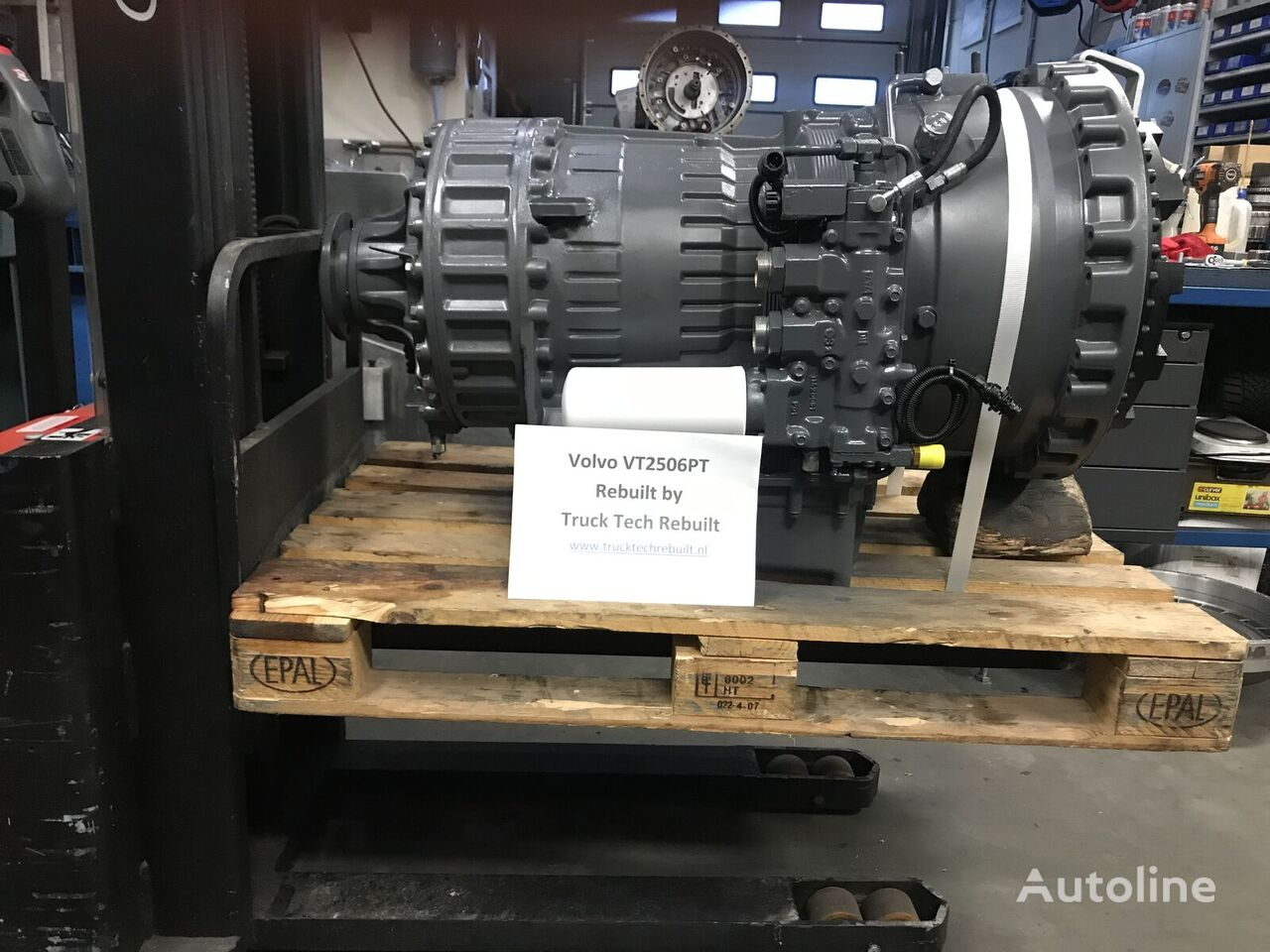 VOLVO VT2506PT Getriebe für VOLVO FH12 Fh13 FH16 FM9 FM11 FM12 LKW