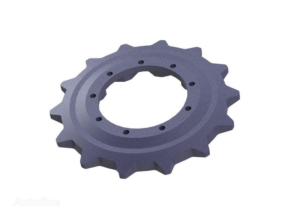 neues Kettenrad für JCB MINI Kompaktlader