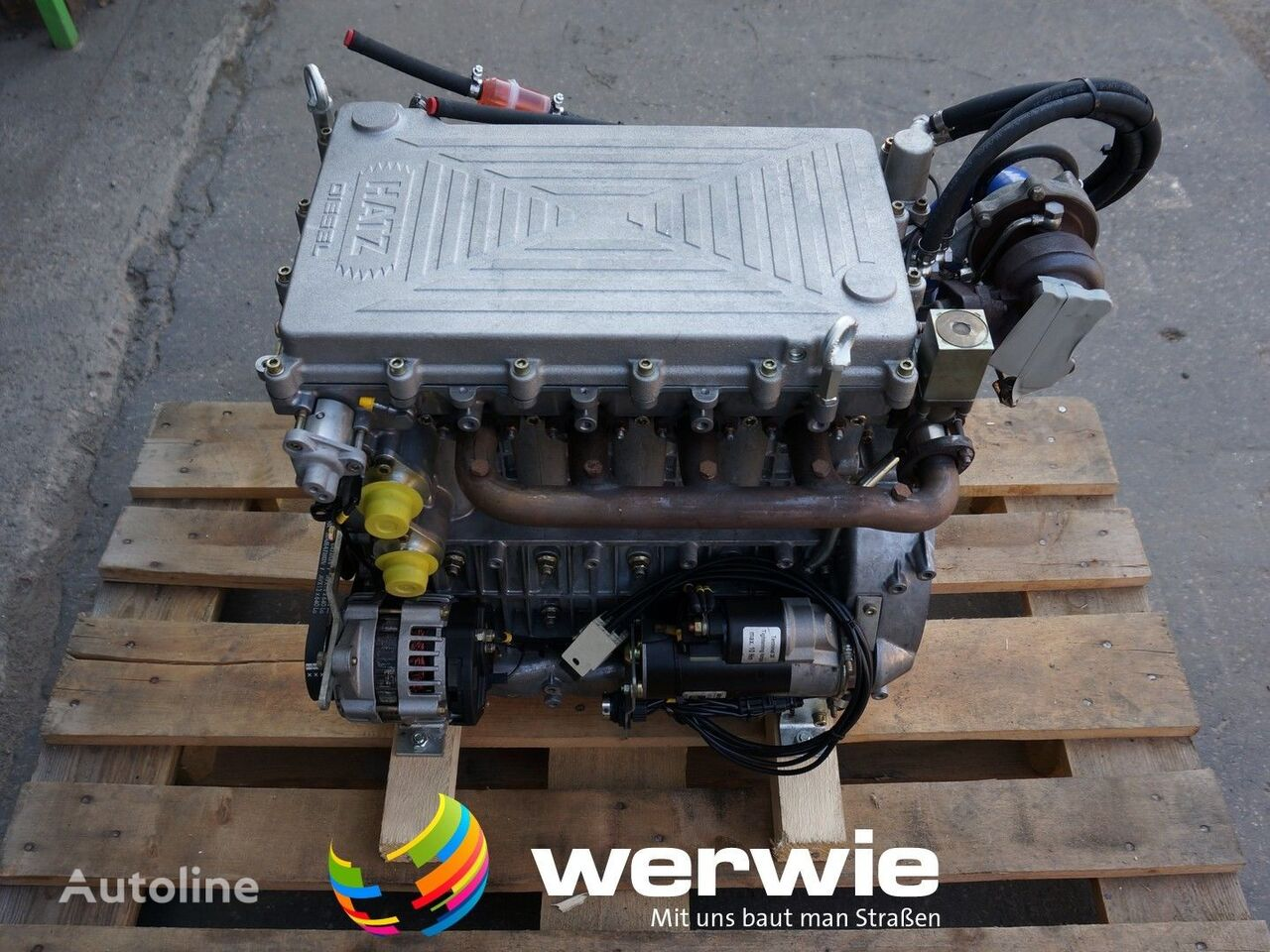 neuer Motor für Walze