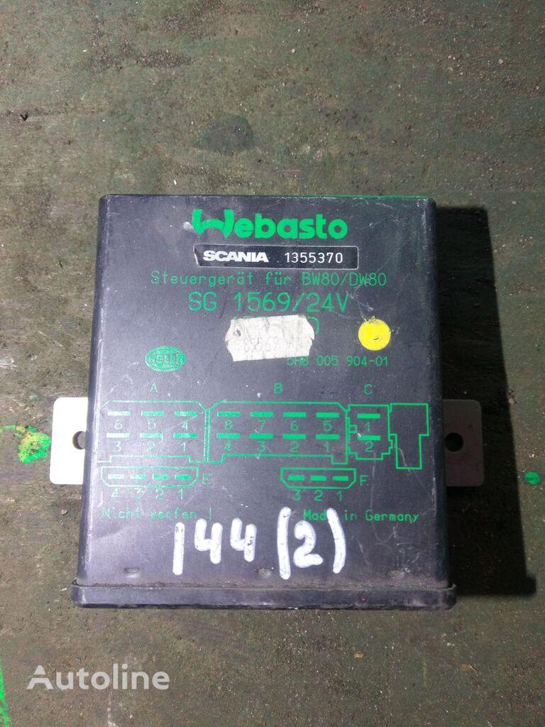 Webasto BW80/DW80 SG1569 1355370 Steuereinheit für SCANIA Sattelzugmaschine