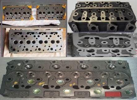 Zylinderkopf für KUBOTA Minibagger