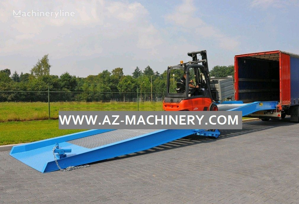 neue AZ-MACHINERY AZ RAMP-EASY 12 Mobile Verladerampe