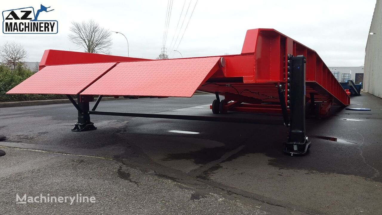 neue AZ-MACHINERY AZ RAMP-KING VERSION 15 Mobile Verladerampe