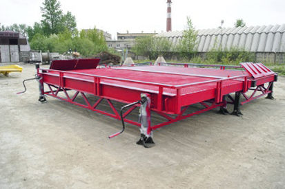 neue DOCKER Stationary Loading Ramp 8 ton RMM-2-23-40-8 Mobile Verladerampe