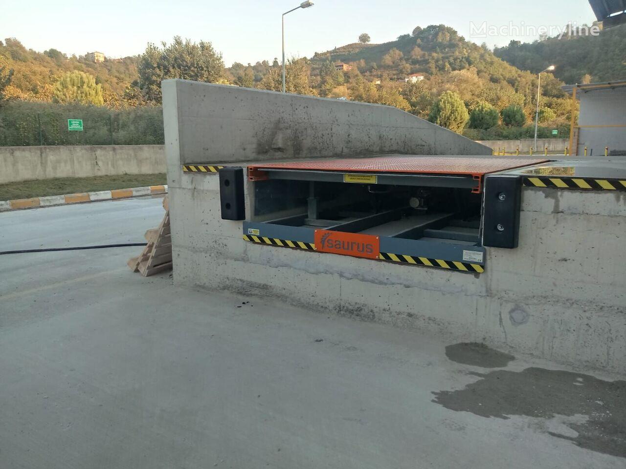 neue SAURUS TELESCOPIC RAMP Überladebrücke