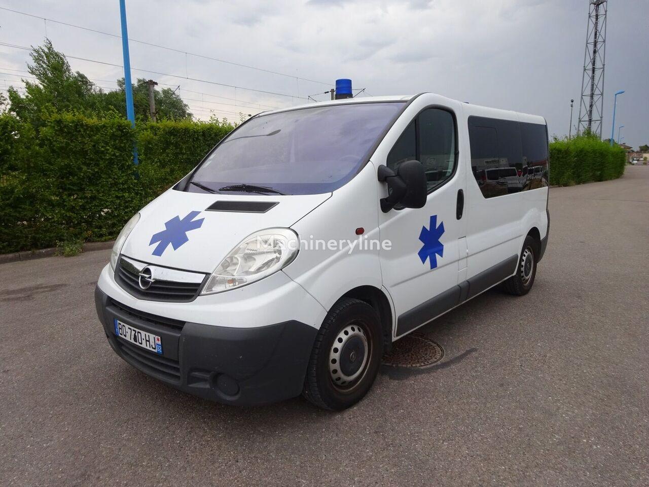 OPEL VIVARO L1H1 Rettungswagen