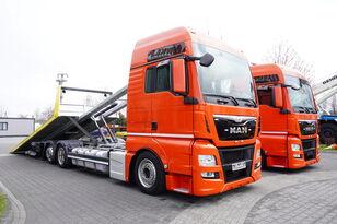 MAN TGX 26.440 XXL , E6 , 6X2 , NEW BODY 7,5m , hydraulic , 2x winch Abschleppwagen