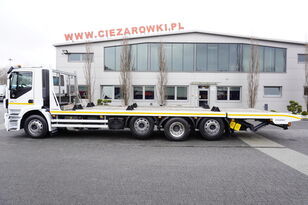 IVECO Stralis 360 , EEV , 8X2 , tridem , load 17t , 8,8m long , retard Abschleppwagen