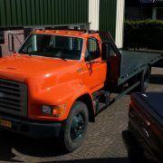 FORD F800 Autotransporter
