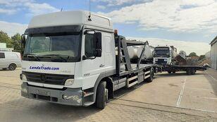 MERCEDES-BENZ Atego 1323 / 7 Cars / Winch / Airco Autotransporter + Autotransportanhänger
