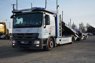 MERCEDES-BENZ ACTROS Autotransporter + Autotransportanhänger