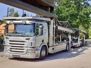 SCANIA P420 Autotransporter + Autotransportanhänger