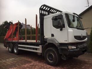RENAULT Kerax 450 DXI Holztransporter LKW