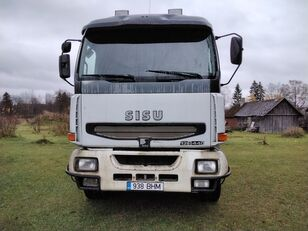 SISU E12M Holztransporter LKW