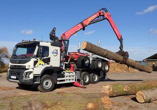 VOLVO FMX 540 6X4 FAYMONVILLE PALFINGER EPSILON  Holztransporter LKW