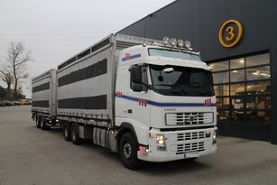 VOLVO FH12.480 CHICKEN TRANSPORTER Viehtransporter LKW + Viehanhänger
