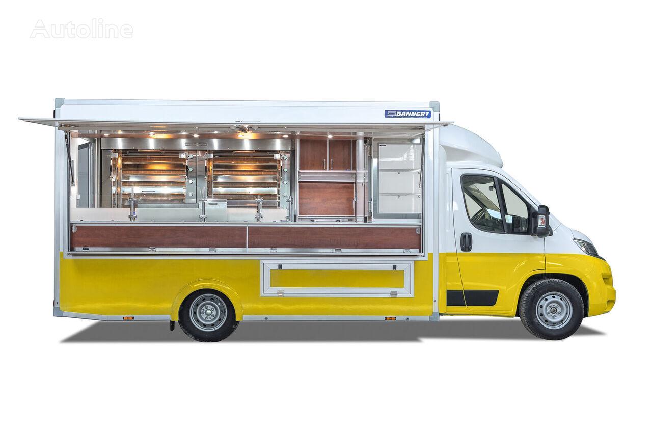 neuer BANNERT FOOD TRUCK Imbiss Handlowy Kurczak Verkaufswagen < 3.5t