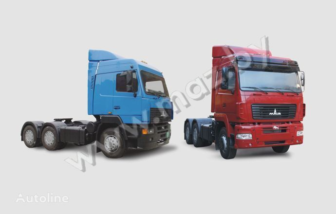 neue MAZ 6430 (A8, A9, 18) Sattelzugmaschine