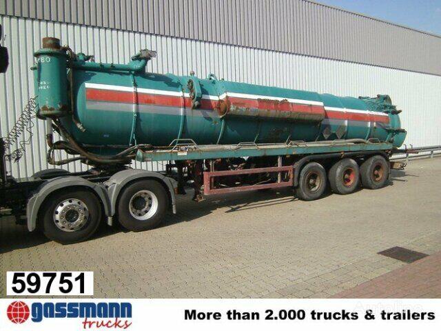 MABO 3-A-Saugauflieger 25000ltr, BPW Tankwagen Auflieger